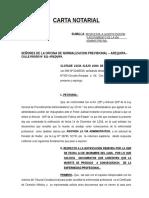 Carta Clotilde Alejo