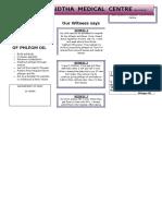 Benefits of Phlegm Oil1