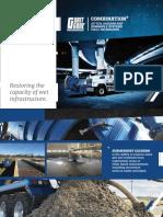 Restoring the capacity of wet infrastructure