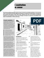 On-Plot Sanitation in Urban Areas