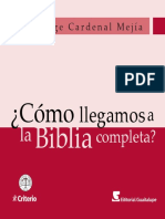 2014 JMeja Como Llegamos a La Biblia Completa