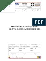 PROCEDIMIENTO PARA INSTALACIÓN DE PLANTAS ELÉCTRICAS DE EMERGENCIA (P-706-D-2509).pdf