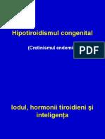 Hipotiroidismul Congenital