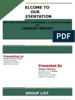 Cadbury Report.pptx