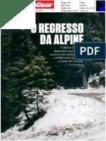 """O REGRESSO DA ALPINE NA """"TOP GEAR"""""""