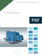 WEG Hidrogeneradores 50022178 Catalogo Espanol