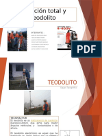 Estación Total y Teodolito 1