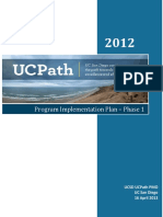 Ucpath Implementation Plan r2
