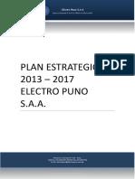 Plan Estratégico Electro Puno