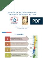Silvia Baeza Minsal Situacion de Las Enfermedades de Transmision Alimentaria en Chile 1