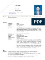 Saqib's CV
