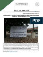 03-05-07 La protección y asistencia Consular de México en el mundo