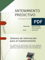 Sistemas de Informacion Mantenimiento Predictivo