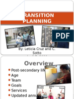 Transition to post-secondary life