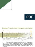 Presupuesto de Capital y Técnicas