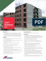 Ficha Tcnica Concreto Industrilizado Autocompactante (Siuf)