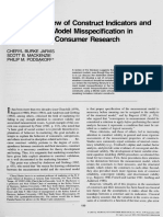 (2003)-A Critical Review of Construct Indicators and Measurement Model Misspecification in Marketing and Consumer Research.