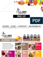 Delicioats Menu April 2016