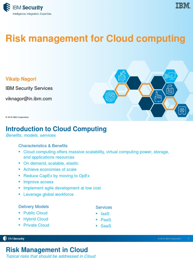 2. Risk Mgmt for CComputing | Cloud Computing | Computer Security