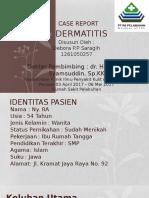 case - dermatitis kontak iritan