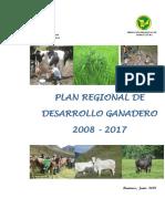 Plan Regional de Desarrollo Ganadero Huanuco 2008