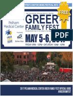 Greer Family Fest 2017