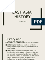 East Asia History