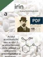 Prezentare Aspirina