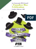 2014 - founders day award program