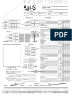 O Senhor dos Anéis RPG - Ficha de Personagem 2 - Biblioteca Élfica.pdf