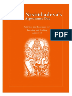 Lord Nrisimhadeva's Appearance Day