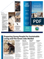 Sustainable Vocations Brochure