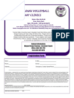 Truman State University Womens Volleyball May Clinic