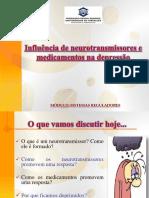 Influencia de Neurotransmissores e Medicamentso Na Depressao