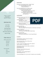 2016-2017 resume