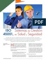 Revista Normas y Calidad No 101 – ISO 45001