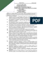 Reglamento Ley de Obra Federal 2010
