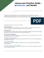 Snarescience Practice Guide