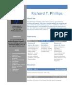 Rich Phillips Resume