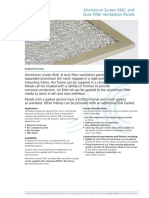KT DS Aluminium Screen Emc Dust Filter