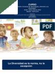 Diseño Universal de Aprendizaje y Atencion a La Diversidad