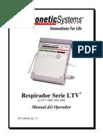 LTV 950 Operators Manual Spanish