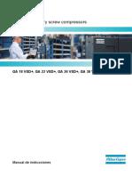 Manual Compresor GA 37VSD+