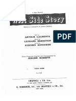 Bernstein West Side Story Vocal Score