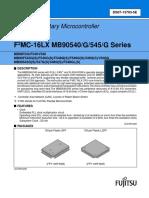 MB90F546GS Datasheet