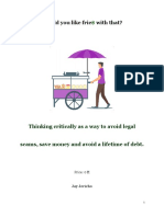 Avoiding legal scams and saving money