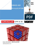 Oracle  Essbase ASO Allocation