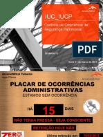Controle Patrimonial IUC 2017 13 RODADA - 31Mar2017
