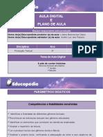 Planos e Aulas de Produção Textual