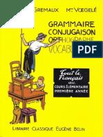 Manuels Anciens_ Berthou, Gremaux, Voegelé, Grammaire, Conjugaison, Vocabulaire, Orthographe CE1_files
